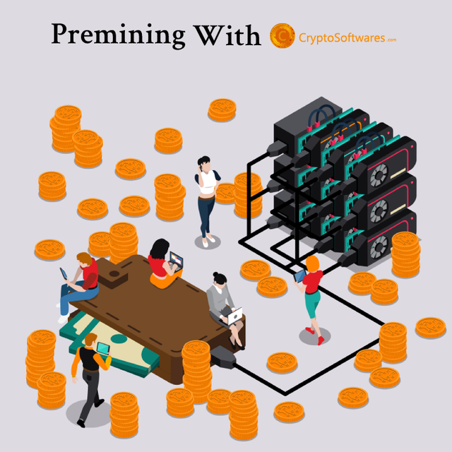 Premining-With-Cryptosoftwares