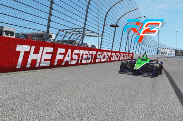 VRC Indycar 2019 - Round 9 - Iowa Speedway