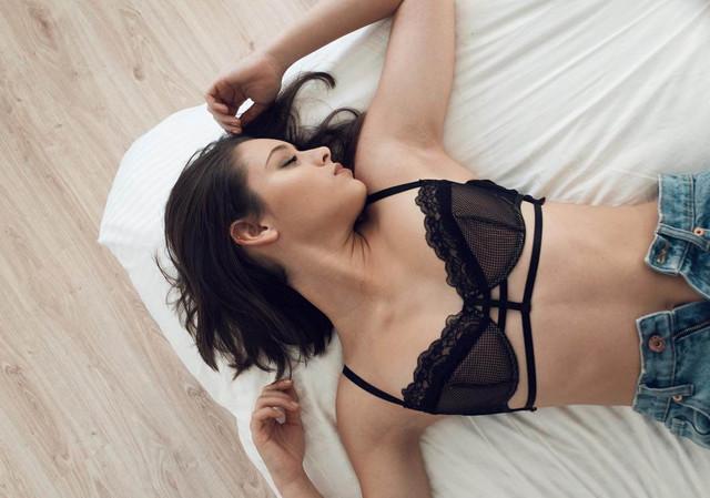 Daniela Melchior - The Suicide Squad 2 (2021)- actress - black lingerie