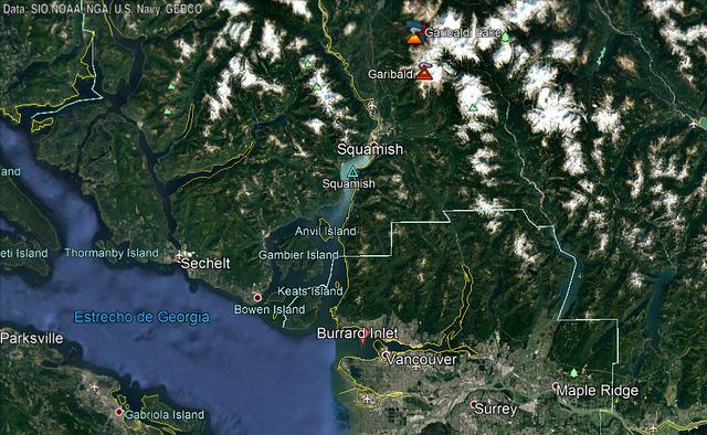 Cascade Range Eruption Garibaldi99