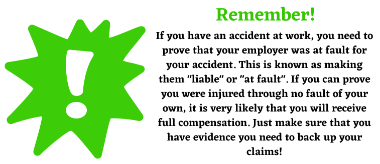 Remember top tip about liability