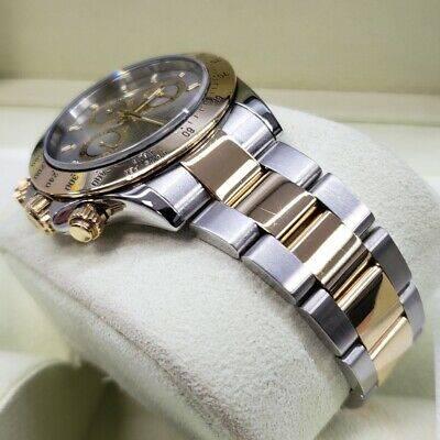 Rolex-Daytona-116523-Two-Tone-YG-Silver-Slate-dial-Box-Pa