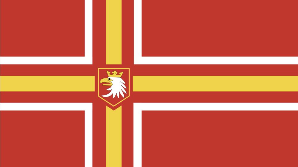 The Flag of the Rzeczpospolita Walruzja (Valruzia)