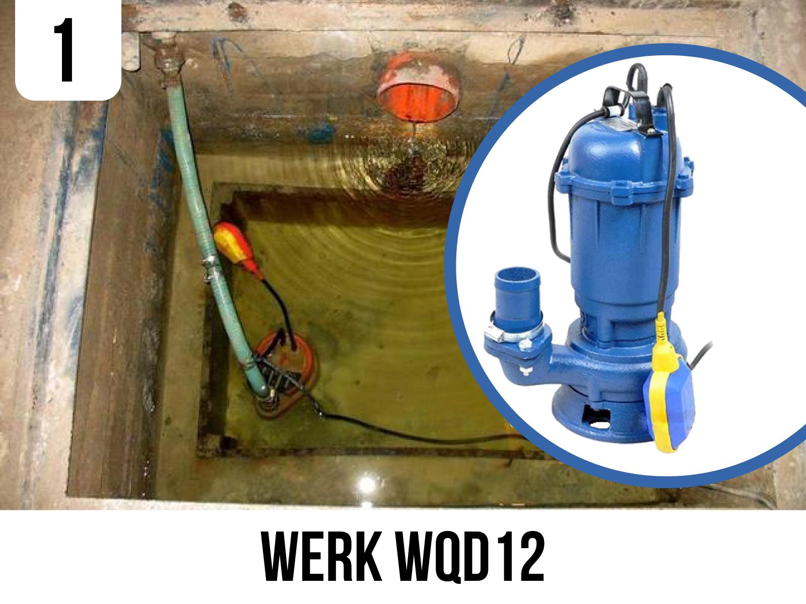 Фекальний насос WERK WQD12