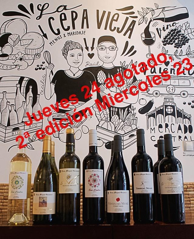 Catas Mensuales de vino en Valencia bodegas Miquel Gelabert