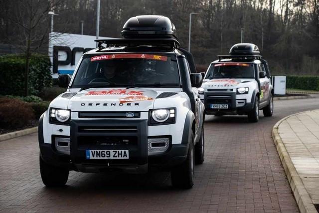 Le Nouveau Defender Va Jouer Un Rôle Crucial Dans Le Retour De Land Rover Sur Le Dakar En 2021 Defenders-Dakar2021-01
