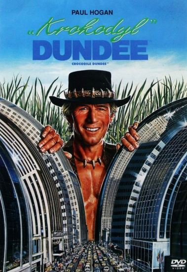 Krokodyl Dundee / Crocodile Dundee (1986) PL.BRRip.XviD-GR4PE   Lektor PL