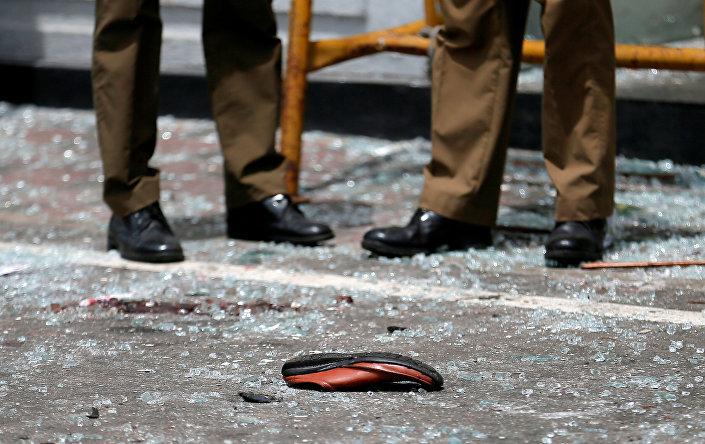 Sri Lanka bombalı saldırı fotoğrafları