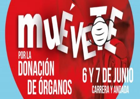 """El 6 y 7 de Junio llega la III Carrera Solidaria """"Muévete por la Donación de Órganos"""""""