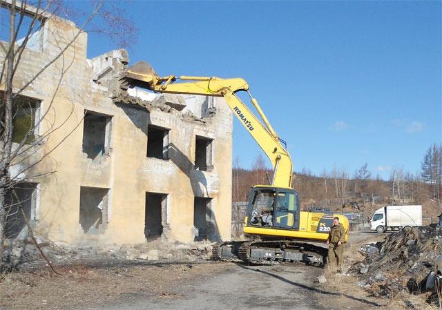 Стоимость сноса и демонтажа здания в 2020 году