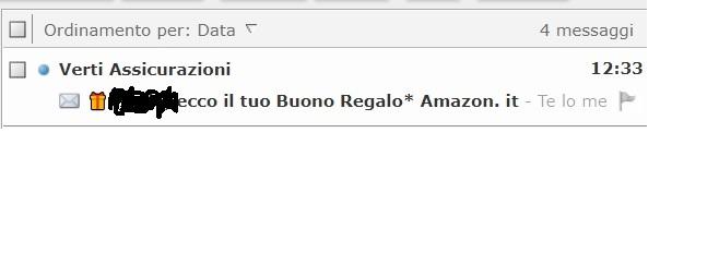 VERTI BONUS BENVENUTO + Promo porta un Amico fino a 400 EURO Buoni AMAZON Cumulabili 2019-Mar08-Verti-buono-ricevuto-1bis
