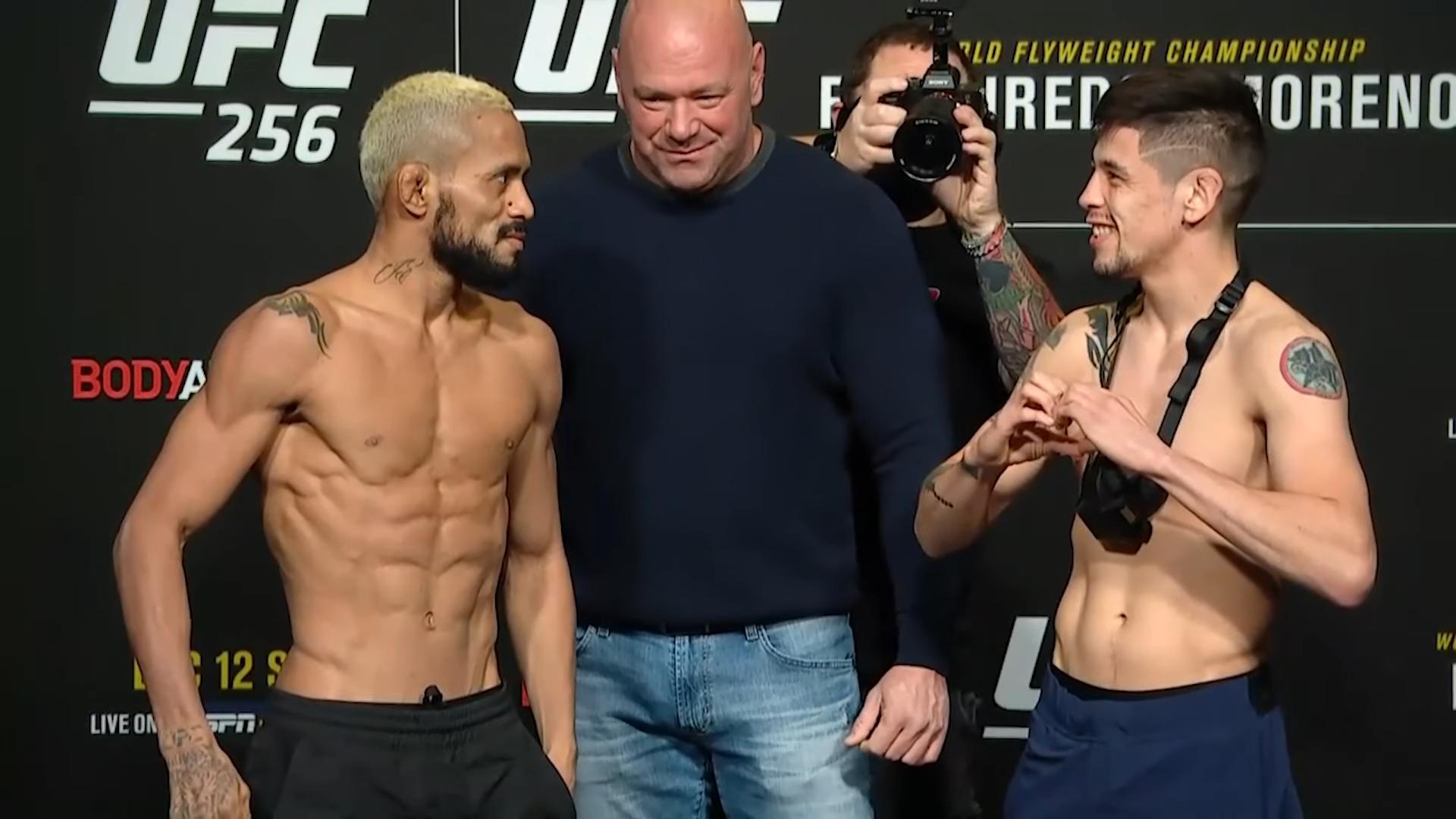 Бойците от UFC 256 лице в лице за последно преди битките