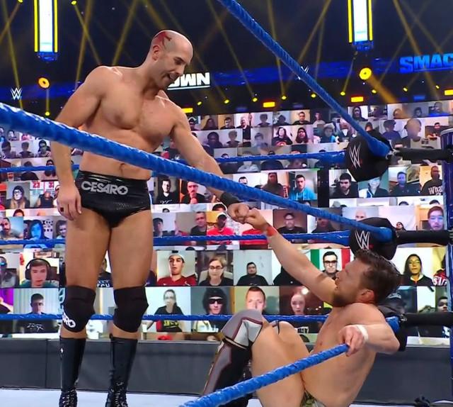 Cesaro CSro derrotó a Daniel Bryan SmackDown 5 Febrero