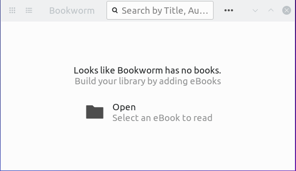 SOLVED] Bookworm Ebook Reader - Finding Dependencies