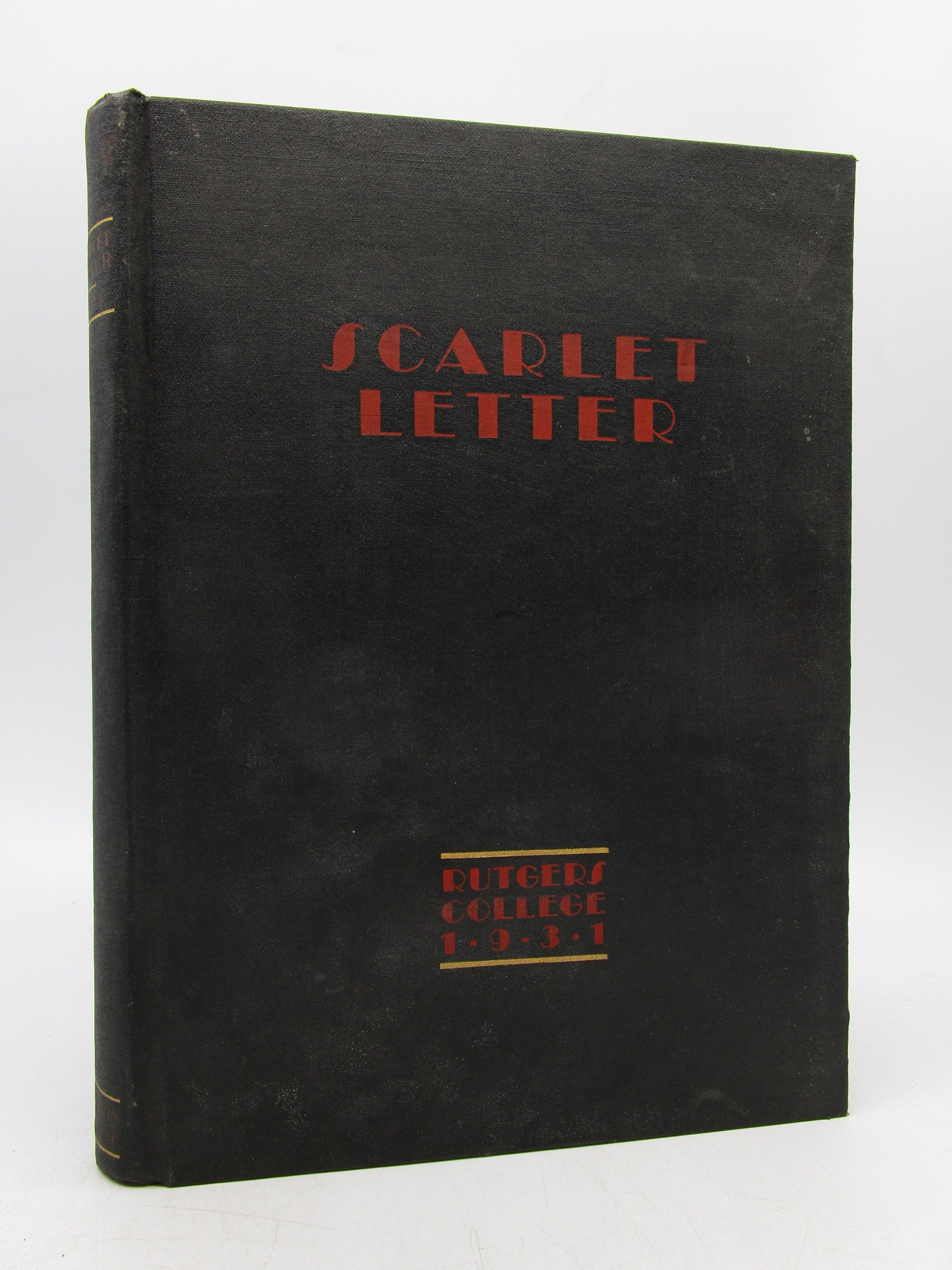 Image for The 1931 Scarlet Letter of Rutgers University (First Edition)