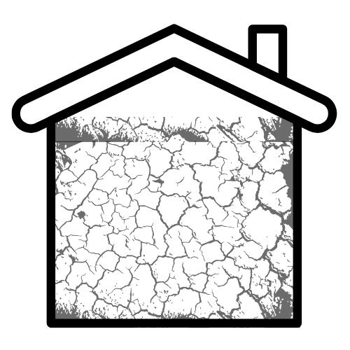 Housing problems cracks