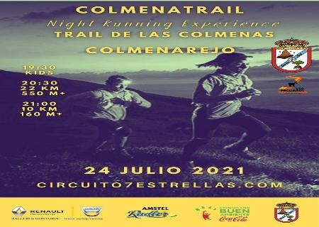 El 24 de Julio llega el Trail de las Colmenas en Colmenarejo