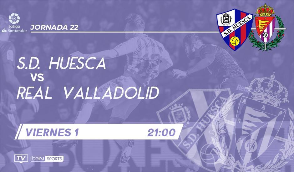 S.D. Huesca - Real Valladolid. Viernes 1 de Febrero. 21:00 SDH-RVD