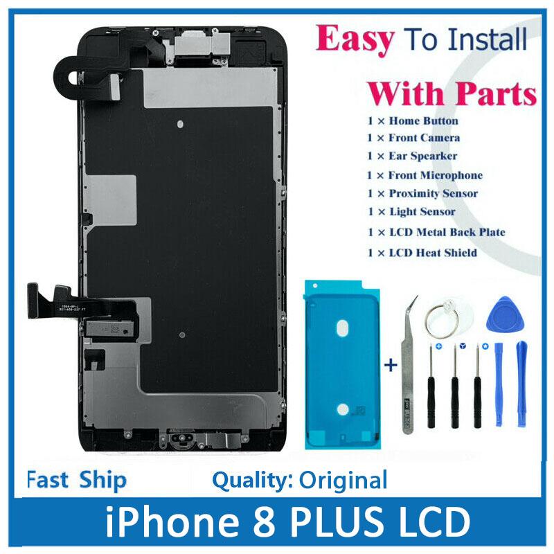 iPhone 8 + Original LCD Replacement Original (Price BHD 18.000)