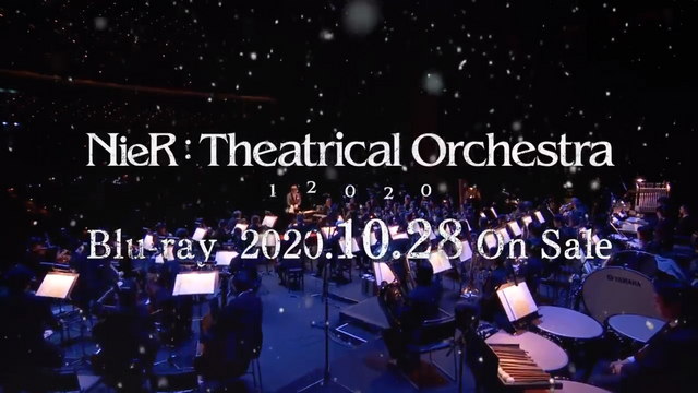 Square Enix宣佈,將於10月28日發售「NieR:Theatrical Orchestra 12020 Blu-ray」 Image