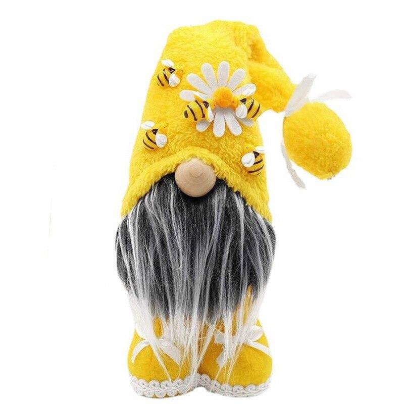 0-FBIL-Faceless-Doll-Bumble-Bee-Striped-Gnome-Scandinavian-Tomte-Nisse-Swedish-Honey-Bee-Elves-Home-