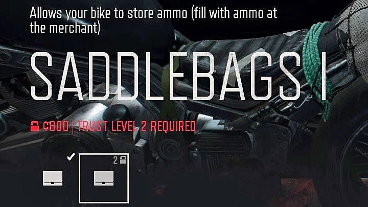 Как модернизировать мотоцикл в Days Gone?