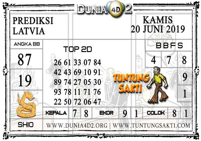 """Prediksi Togel """"LATVIA"""" DUNIA4D2 20 JUNI 2019"""