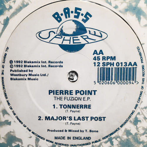 Pierre Point - The Fuzion E.P.