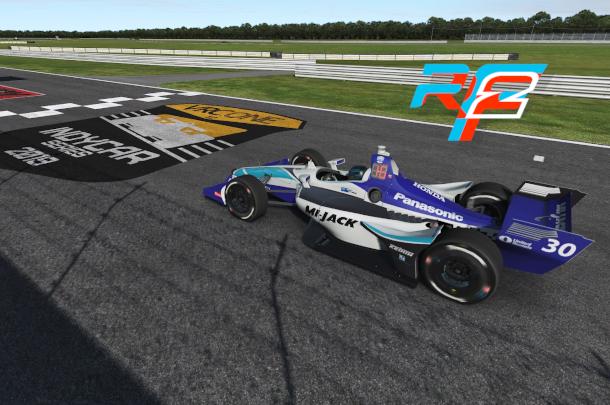 VRC Indycar 2019 - Test Round - NOLA