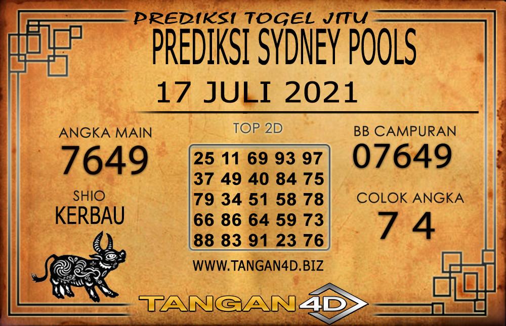PREDIKSI TOGEL SYDNEY TANGAN4D 18 JULI 2021