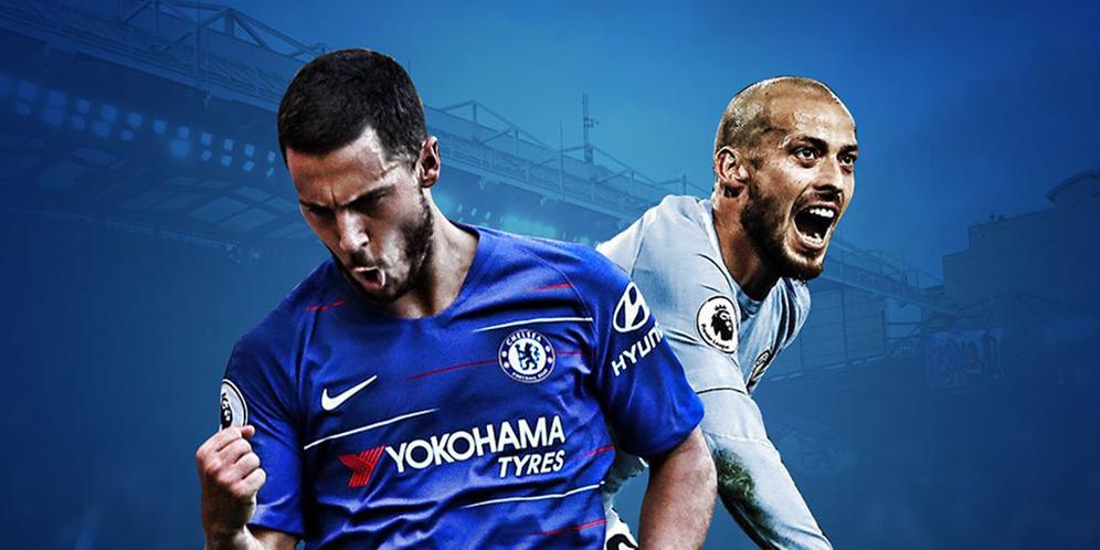 Chelsea VS Manchester City 2-0 Hasil Liga Inggris - Cuplikan Gol