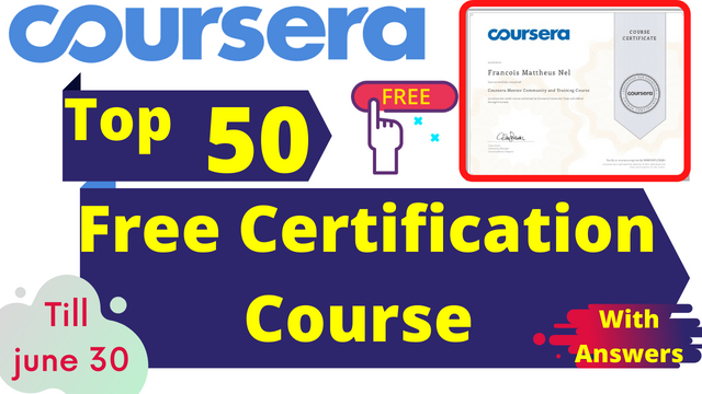 Top Free Certification Courses