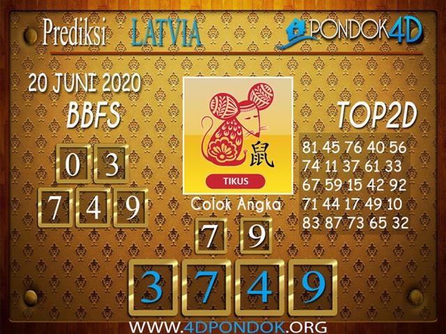 Prediksi Togel LATVIA POOLS PONDOK4D 20 JUNI 2020