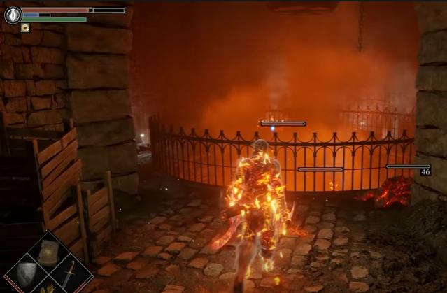 Demon souls screenshot from PS5