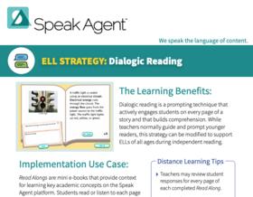 PDF Speak Agent Dialogic Reading Strategy Brief