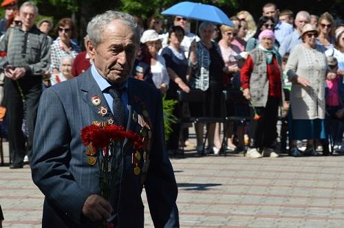 Коммунисты Биробиджана почтили память жертв Великой Отечественной войны