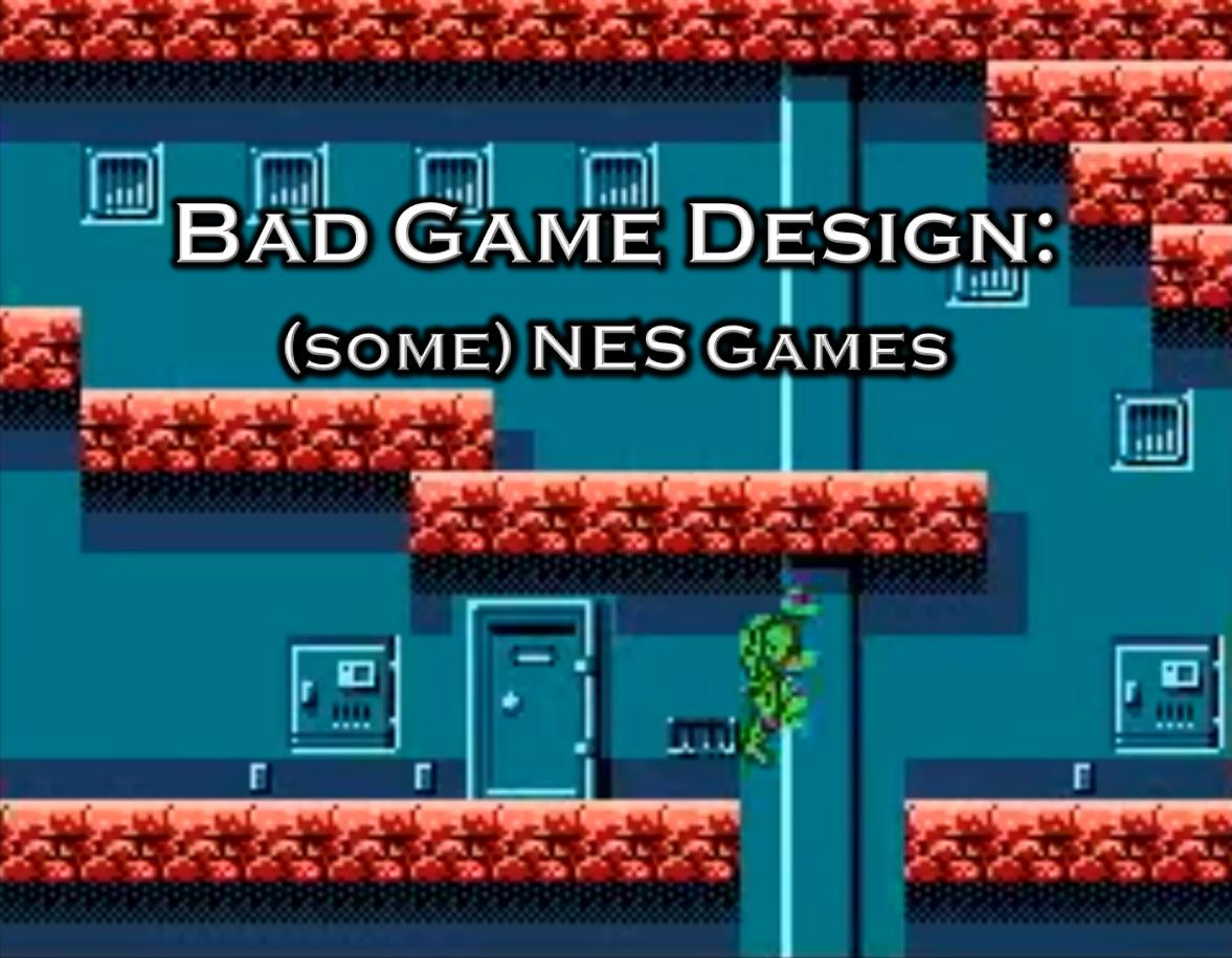 Bad Game Design: Some NES Games Icon