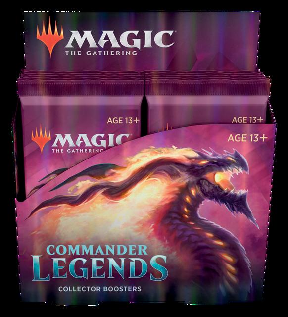 Commander Legends Collectors Booster Pack Display (12 Packs)