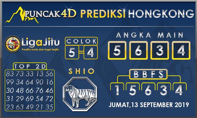 PREDIKSI TOGEL HONGKONG PUNCAK4D 13 SEPTEMBER 2019