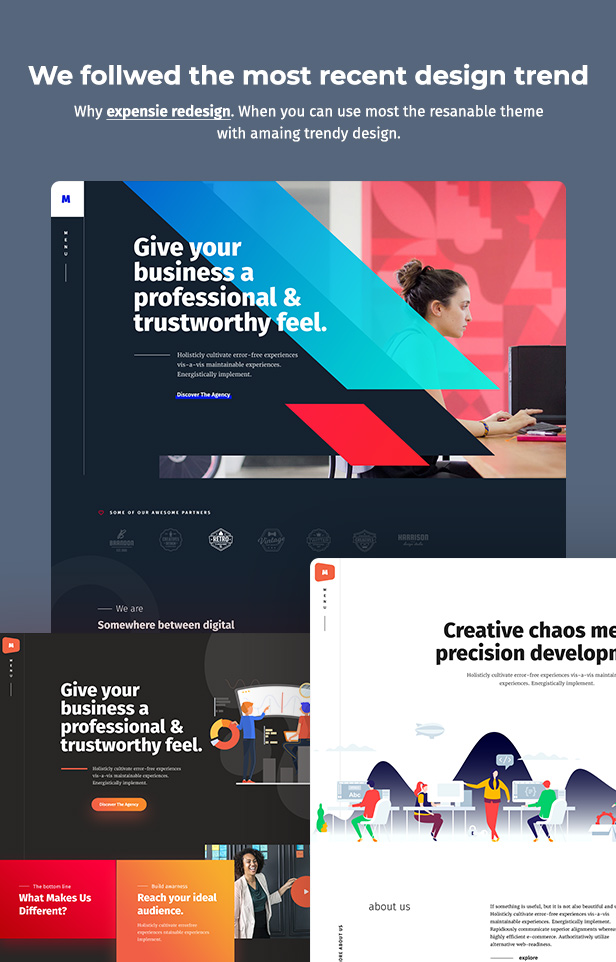 Maacuni - Multipurpose Creative Portfolio WordPress Theme