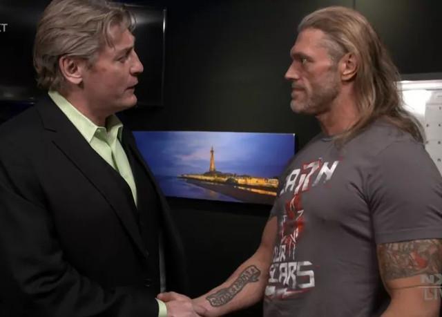 Edge y William Regal NXT 3 Febrero
