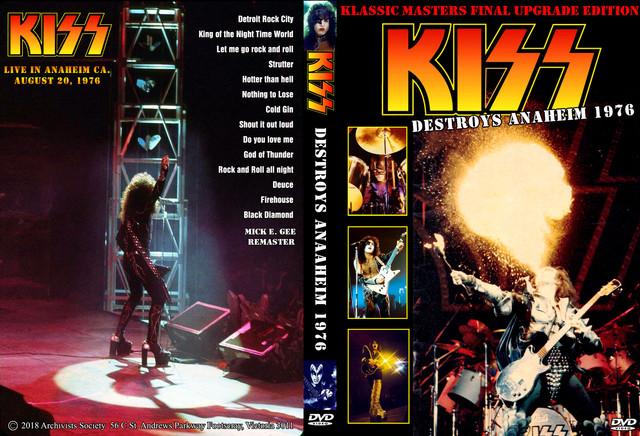 KISS - 1976-08-20 ~ Anaheim, CA - Guitars101 - Guitar Forums