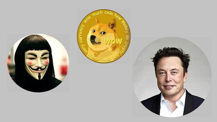 Anonymous Vs Elon Musk por las criptomonedas y le dicen haz destruido vidas