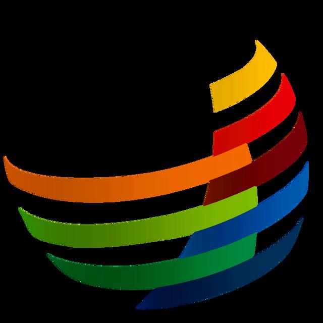 Logo unilab quadrado fundo transparent s faixas coloridas