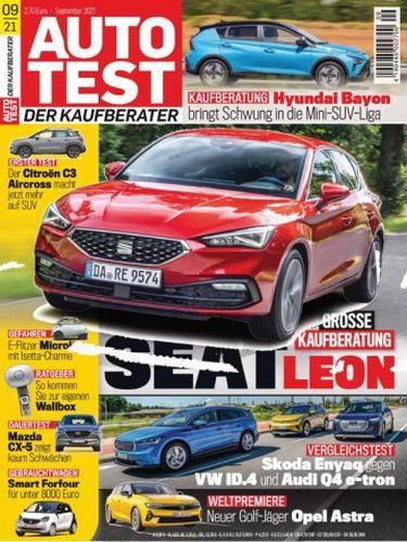 Cover: Auto Test Magazin (Der Kaufberater) No 09 September 2021