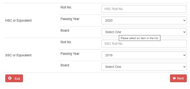 GST Admission Admit Card PDF Download 2020-21