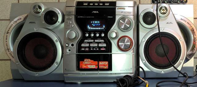 Resgatando um antigo system Aiwa, para uso como monitor/amplificador 1
