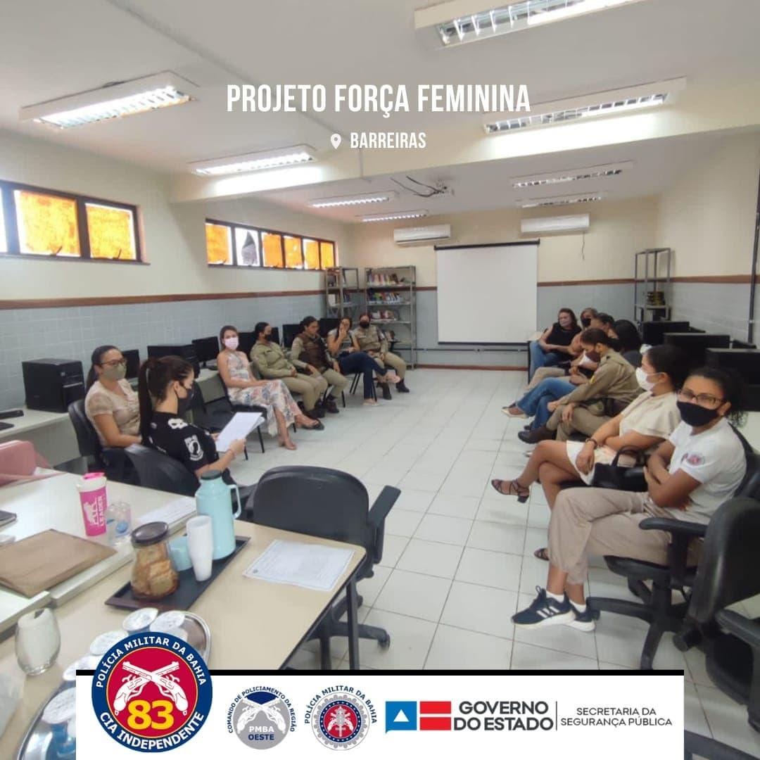 Projeto Força Feminina é retomado pela 83ª CIPM