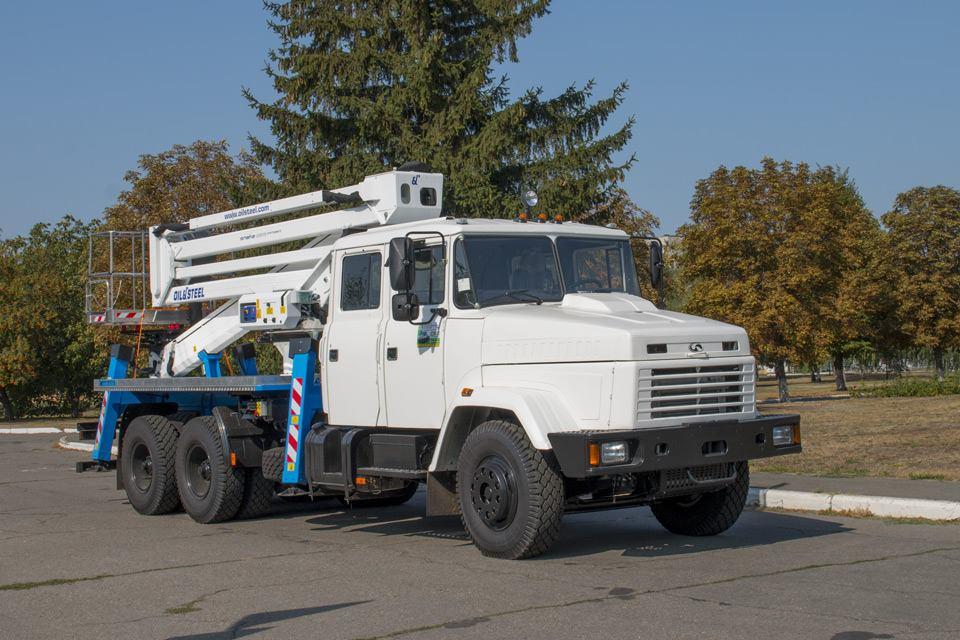 Автогидроподъемники КРАЗ цены в Киеве