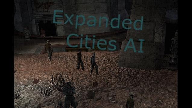 Expandes Cities AI [RU] / Расширение: Города [RU]